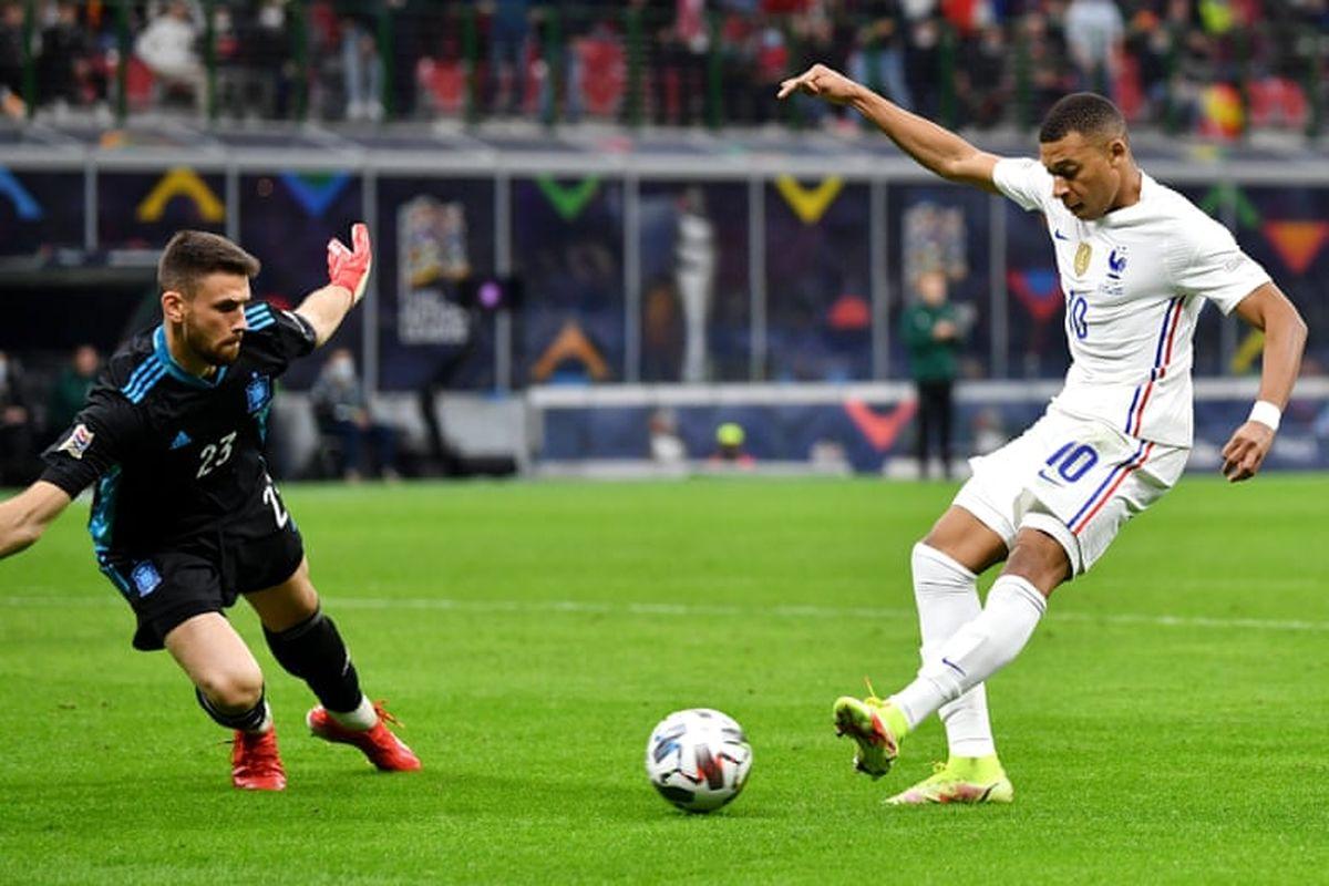 فرانسه 2 – 1 اسپانیا؛ امباپه و جبران خرابکاری یورو