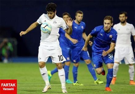 صعود دینامو زاگرب از مرحله سوم لیگ قهرمانان اروپا