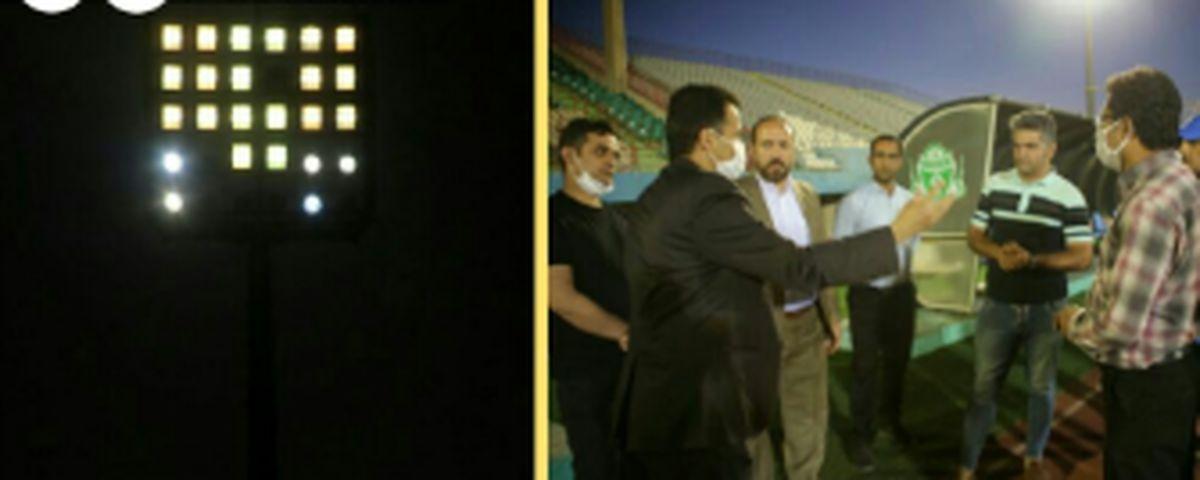 سیستم نور و روشنایی استادیوم 15 هزار نفری امام خمینی(ره) اراک مورد تایید قرار گرفت