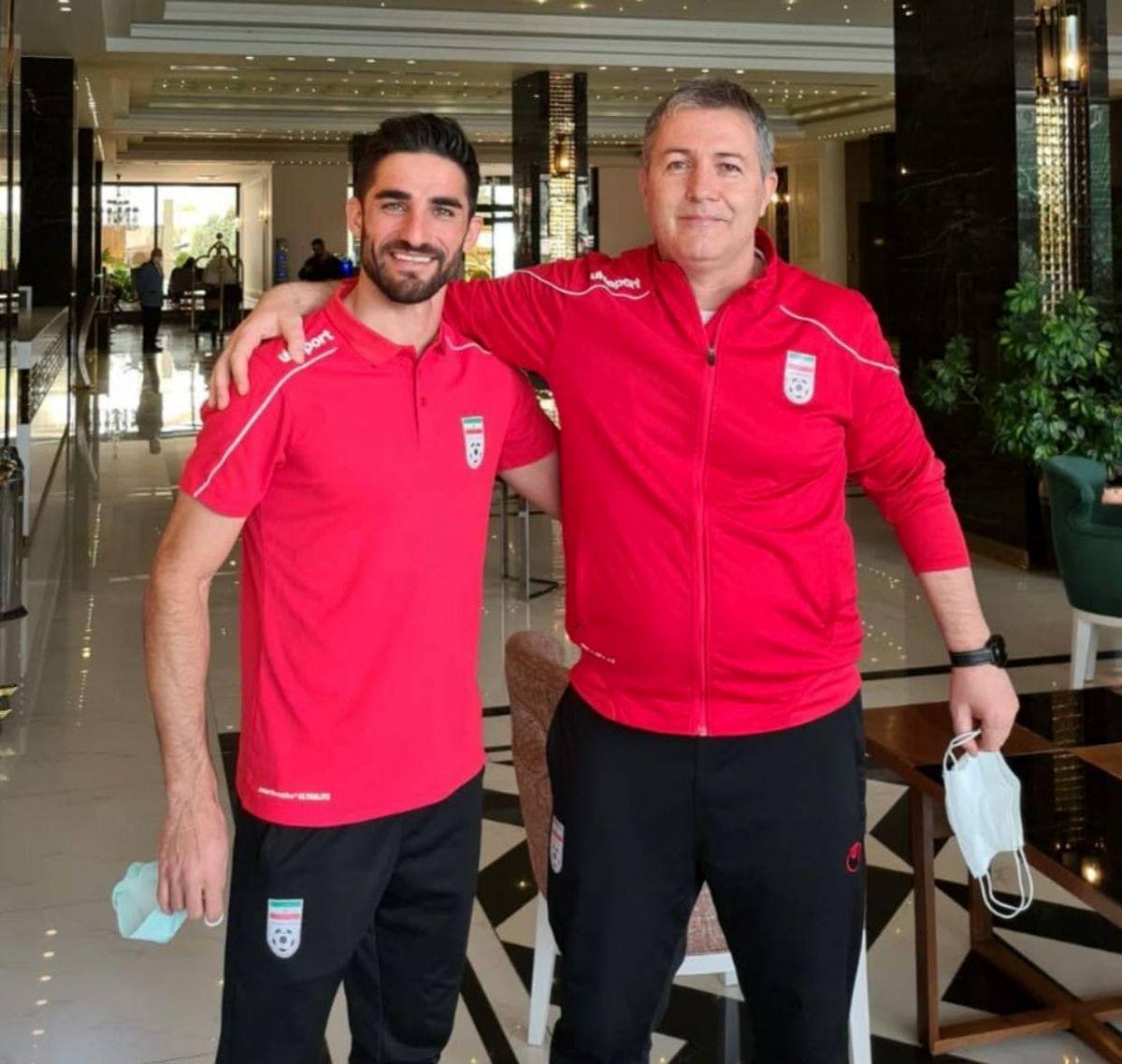 حضور میلاد محمدی در اردوی تیم ملی