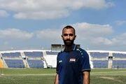 هافبک سوریه ادامه جام ملت ها را از دست داد