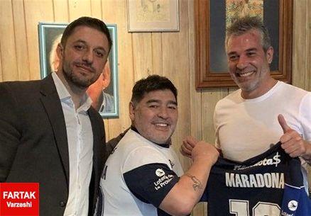 مارادونا به «خیمناسیا» پیوست