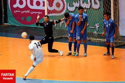 دومین پیروزی فوتسالیستهای ایران مقابل ازبکستان