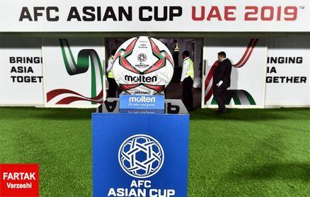 جام ملت های آسیا  برنامه دیدارهای روز هفتم