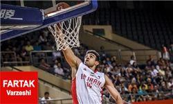 رویارویی بسکتبال ایران و مکزیک