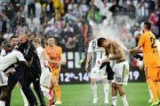 تصاویر دیدنی تیم های یوونتوس2 فیورنتینا 1 / شادی متفاوت رونالدو
