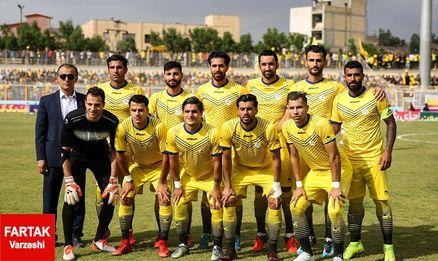 ترکیب نفت مسجدسلیمان مقابل فولاد خوزستان