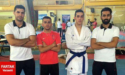درخشش کاراته بازان کرمانشاه در مسابقات امید های کشور