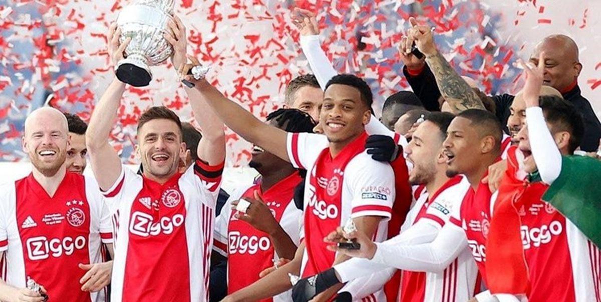 ثبت بیستمین قهرمانی آژاکس در جام حذفی هلند