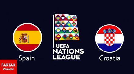 رونمایی از 11 تای اسپانیا و کرواسی
