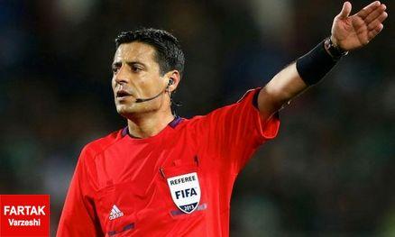 نظری: فغانی بهترین عملکردش را به نمایش گذاشت/ او شانس قضاوت در فینال جام جهانی را دارد