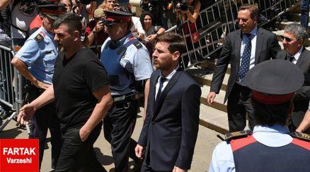 مسی 21  ماه محکومیتش را به زندان می رود؟