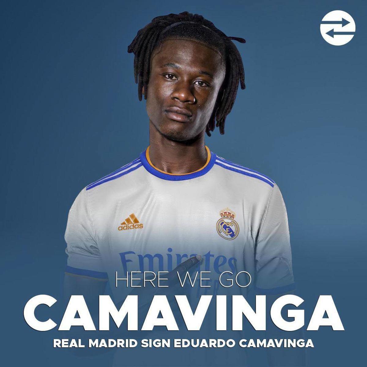 رسمی؛ ادوارد کاماوینگا به رئال مادرید پیوست