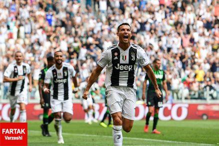 رونالدو گل زد، یوونتوس برنده شد