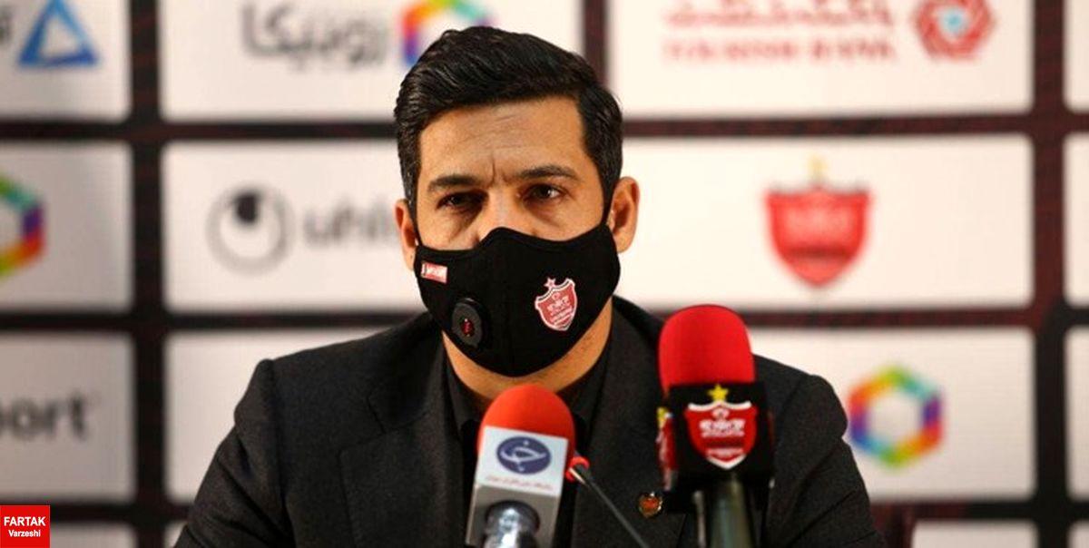 شکوری: بازیکنان پرسپولیس جزو بهترینهای ایران هستند/ دربی فضای متفاوتی دارد