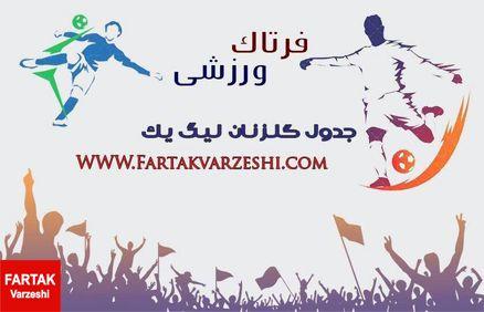 صدر بدون تغییر/بابا محمدی به صف ۶ گل اضافه شد+پوستر
