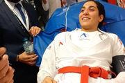 عمل جراحی موفقیت آمیز بانوی کاراتهکای المپیکی ایران