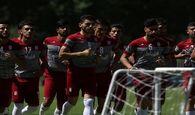 اردوی تیم فوتبال امید ایران زودتر از موعد تمام شد