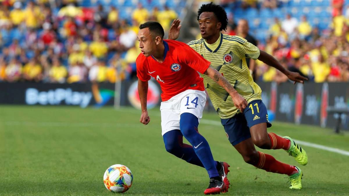 توقف دوباره کی روش و کلمبیا مقابل شیلی