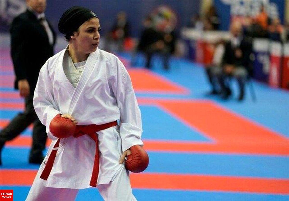 کاراته المپیک توکیو/ بهمنیار از صعود به نیمه نهایی بازماند