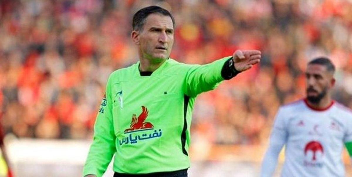 اعلام داوران هفته نوزدهم لیگ برتر فوتبال
