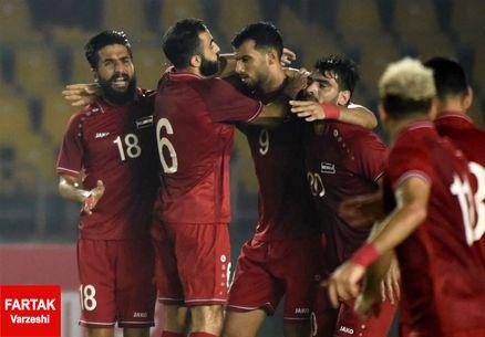 برتری پرگل لبنان و سوریه در مسابقات انتخابی جام جهانی ۲۰۲۲