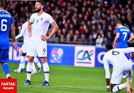 فرانسه از شکست خانگی گریخت