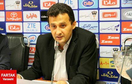 بازدید فریبرز محمودزاده از امکانات باشگاه آلومینیوم اراک