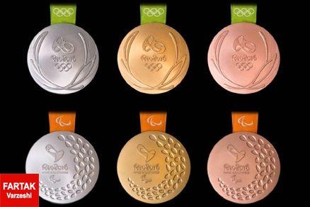 خلاصه جدول توزیع مدال ها تا پایان روز نهم المپیک