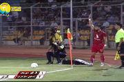 اولین گل لیگ برتر نوزدهم توسط نساجی مازندران + فیلم