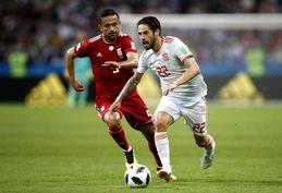 تصاویر/ دیدار تیم ملی ایران و اسپانیا