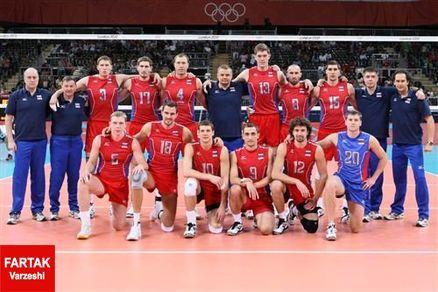 والیبال روسیه بالاخره مجوز حضور در المپیک را گرفت