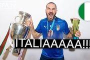 قهرمانی ایتالیا در یورو 2020 از صفر تا صد + فیلم