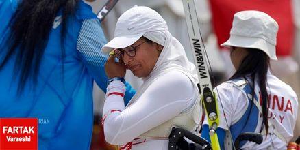 ناکامی زهرا نعمتی در کسب مدال طلا