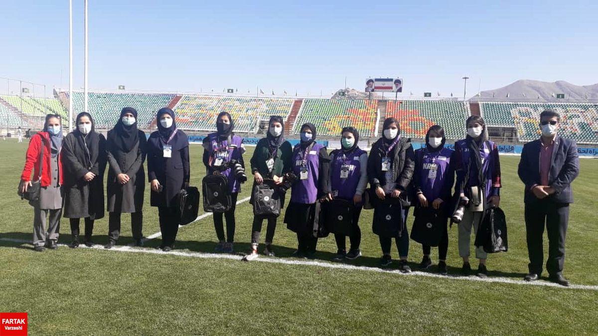 باشگاه ذوب آهن به مناسبت روز زن از  بانوان خبرنگار و عکاس تقدیر نمود