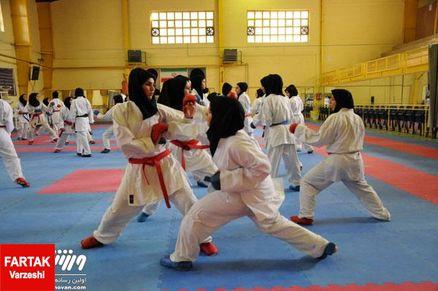 کاراته بانوان کشور سبک شوتوکان قهرمانان خود را شناخت
