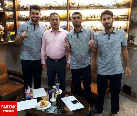 سه بازیکن نفت مسجد سلیمان برای یک فصل دیگر ماندنی شدند