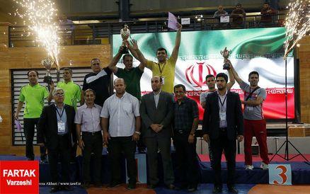 قهرمانی مازندران در قهرمانی کشتی آزاد خردسالان کشور