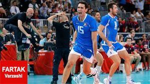 بازی مرگ و زندگی را ایتالیا برد/ نخستین فینالیست والیبال المپیک مشخص شد