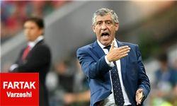 سانتوس: به مردانم افتخار میکنم/ پرتغال شایسته قهرمانی است