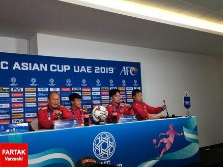 بازیکن ویتنام: فکر میکنم برابر ایران نتیجه خوبی بگیریم