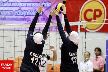 تیم ملی والیبال جوانان دختر ایران از صعود به مرحله حذفی بازماند