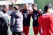 گزارش آخرین تمرین پرسپولیس پیش از بازی با سپیدرود