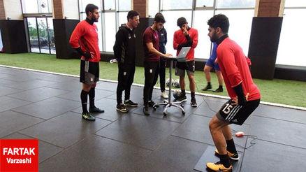 گزارش تمرین امروز تیم ملی ایران