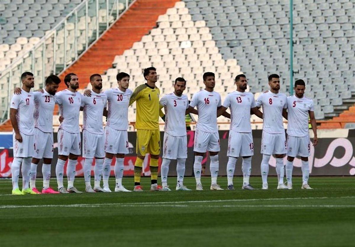 شکل بازی تیم ملی با ۳ مدافع مقابل سوریه