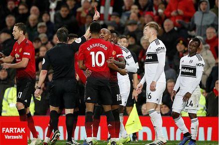 پیروزی پر گل یونایتد مقابل فولام