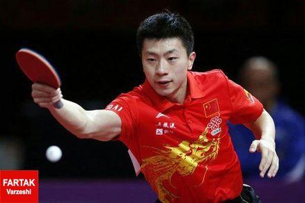ما لونگ چینی قهرمان تنیس روی میز جهان شد
