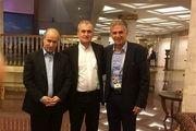 دیدار مدیران سرخابی با رئیس فدراسیون فوتبال