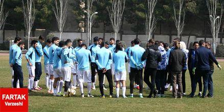 گزارش تمرین استقلال/ فوتبال تحت فشار و تنیس فوتبال در دستور کار آبی ها