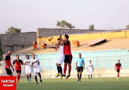 پیروزی نساجی مازندران در دیدار دوستانه
